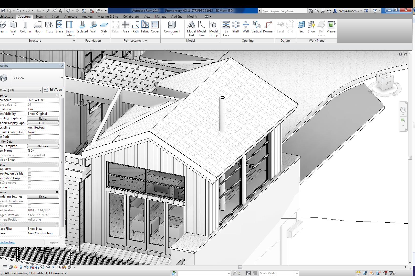 RevitCity.com | Roof Framing For Sloped Roof