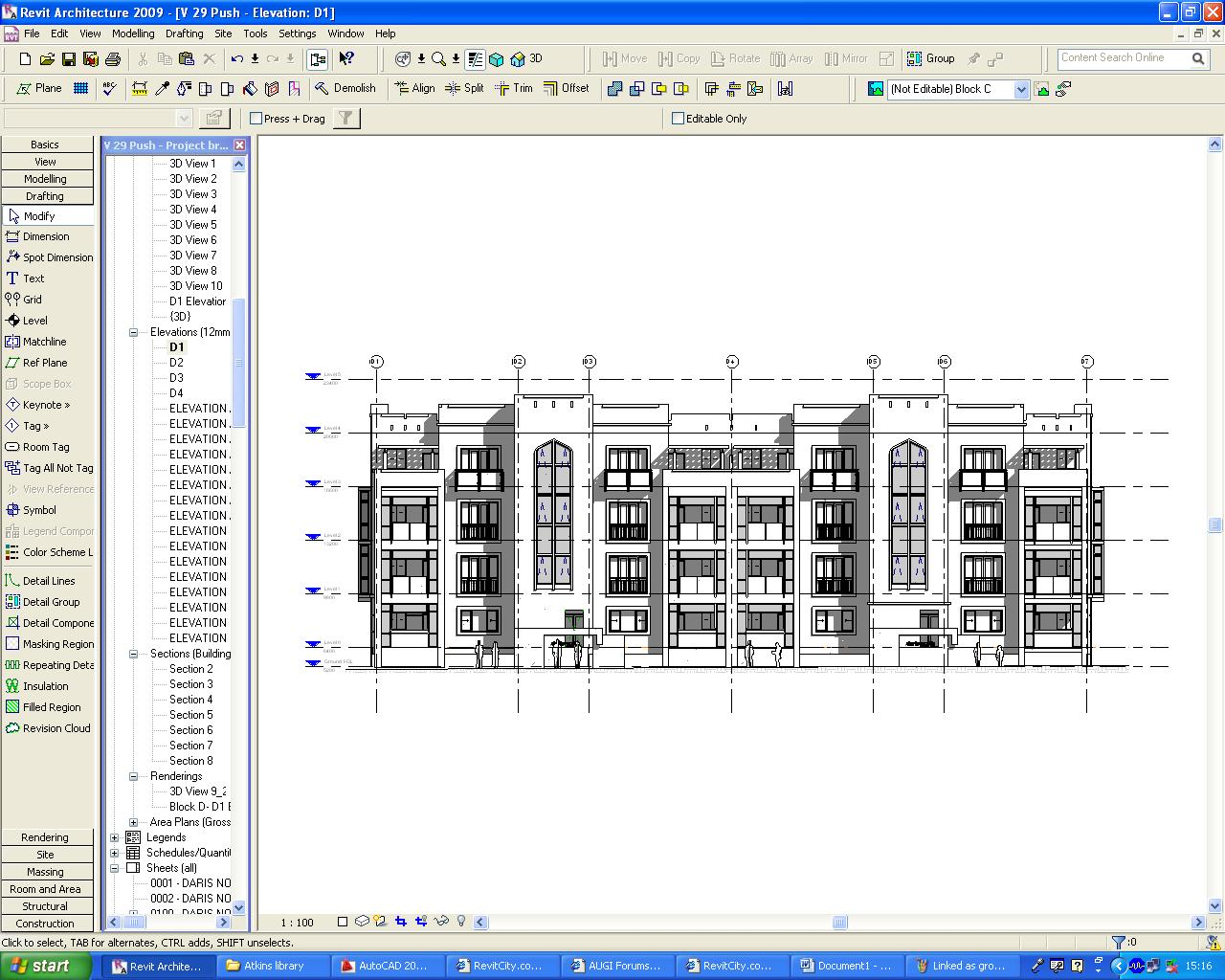 Revit Floor Elevation : Revitcity my project