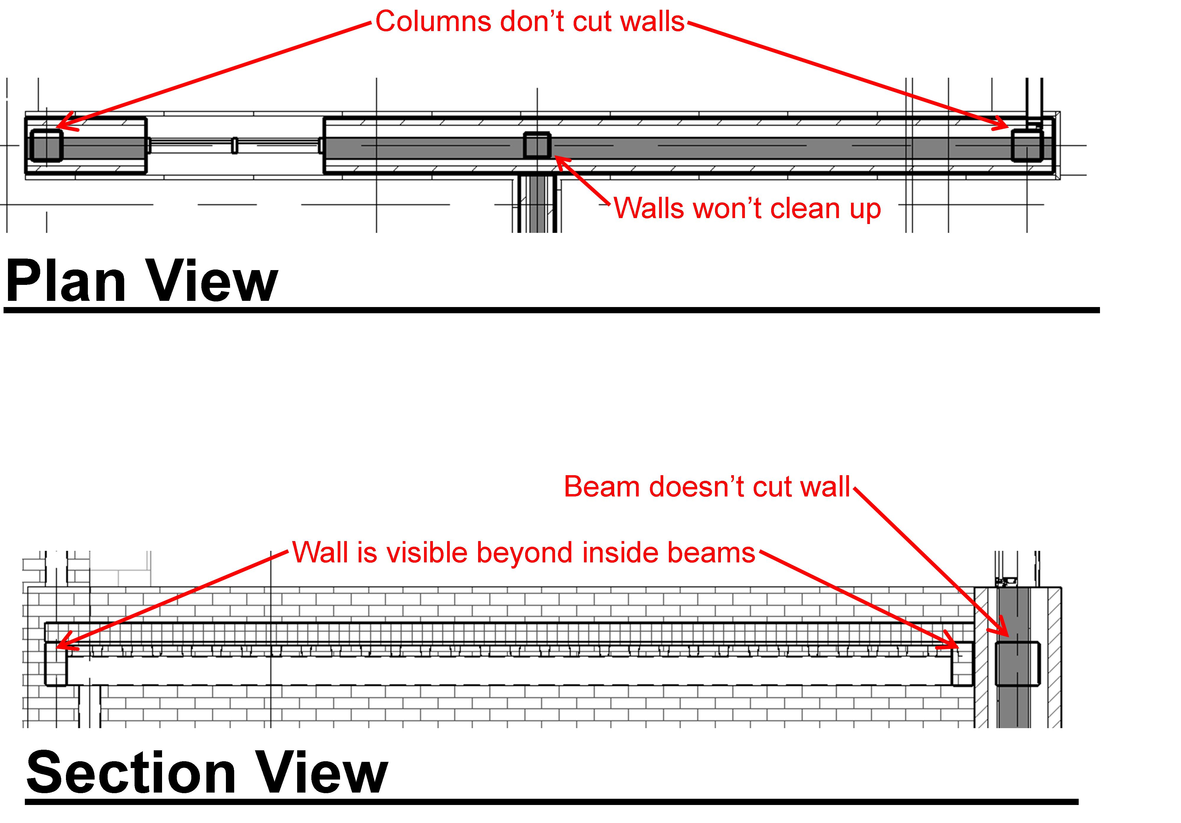 how to cut the wall in revit