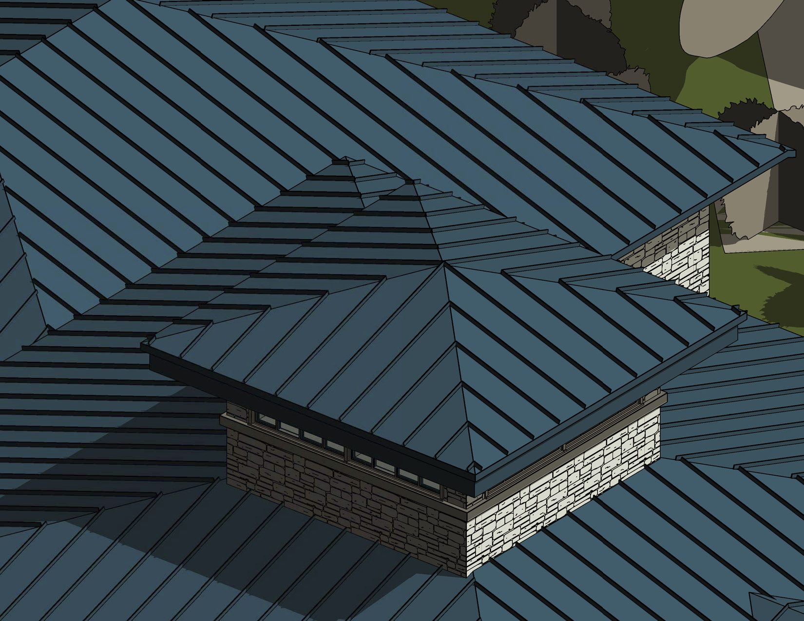 Metal roof finish for Roofing forum
