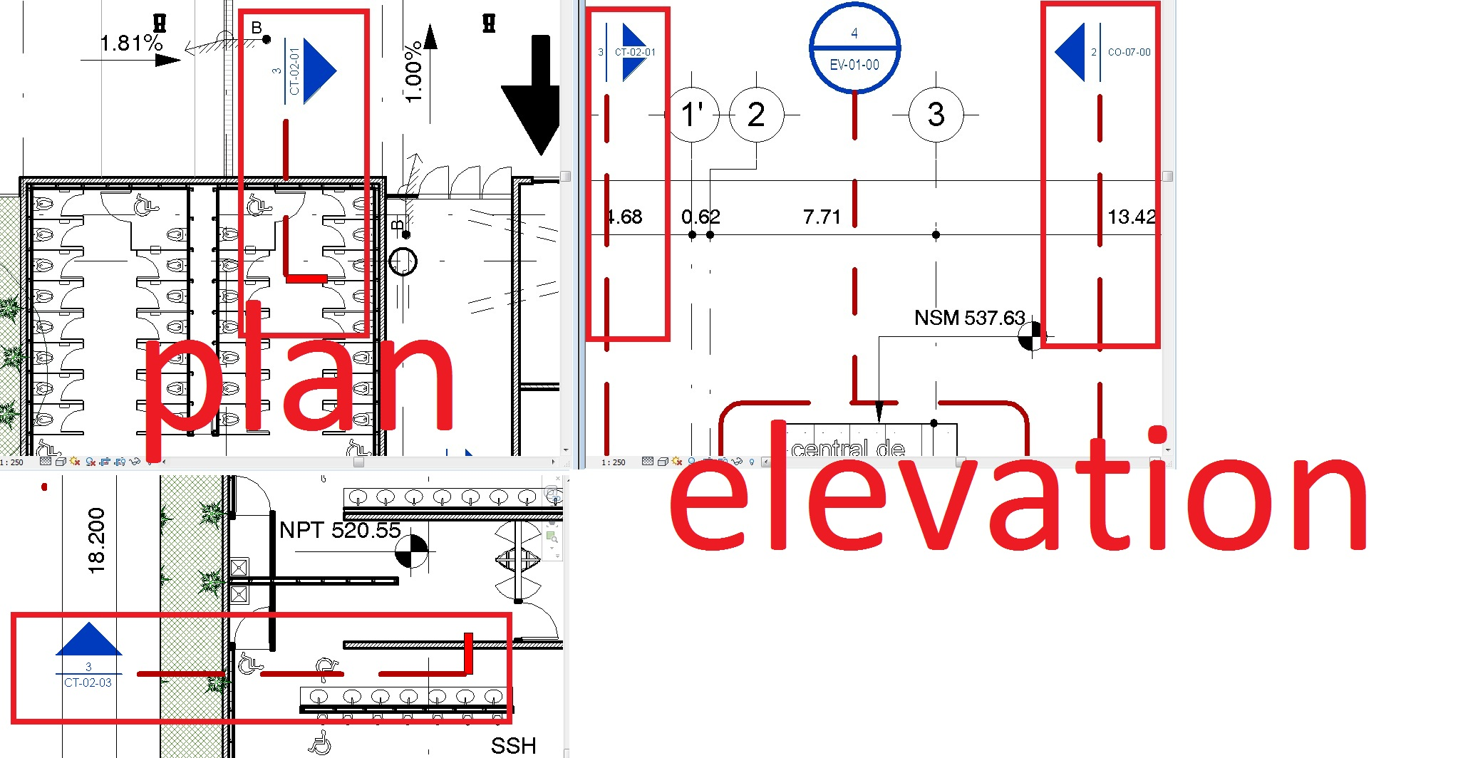 What Is Plan And Elevation : Revitcity section families