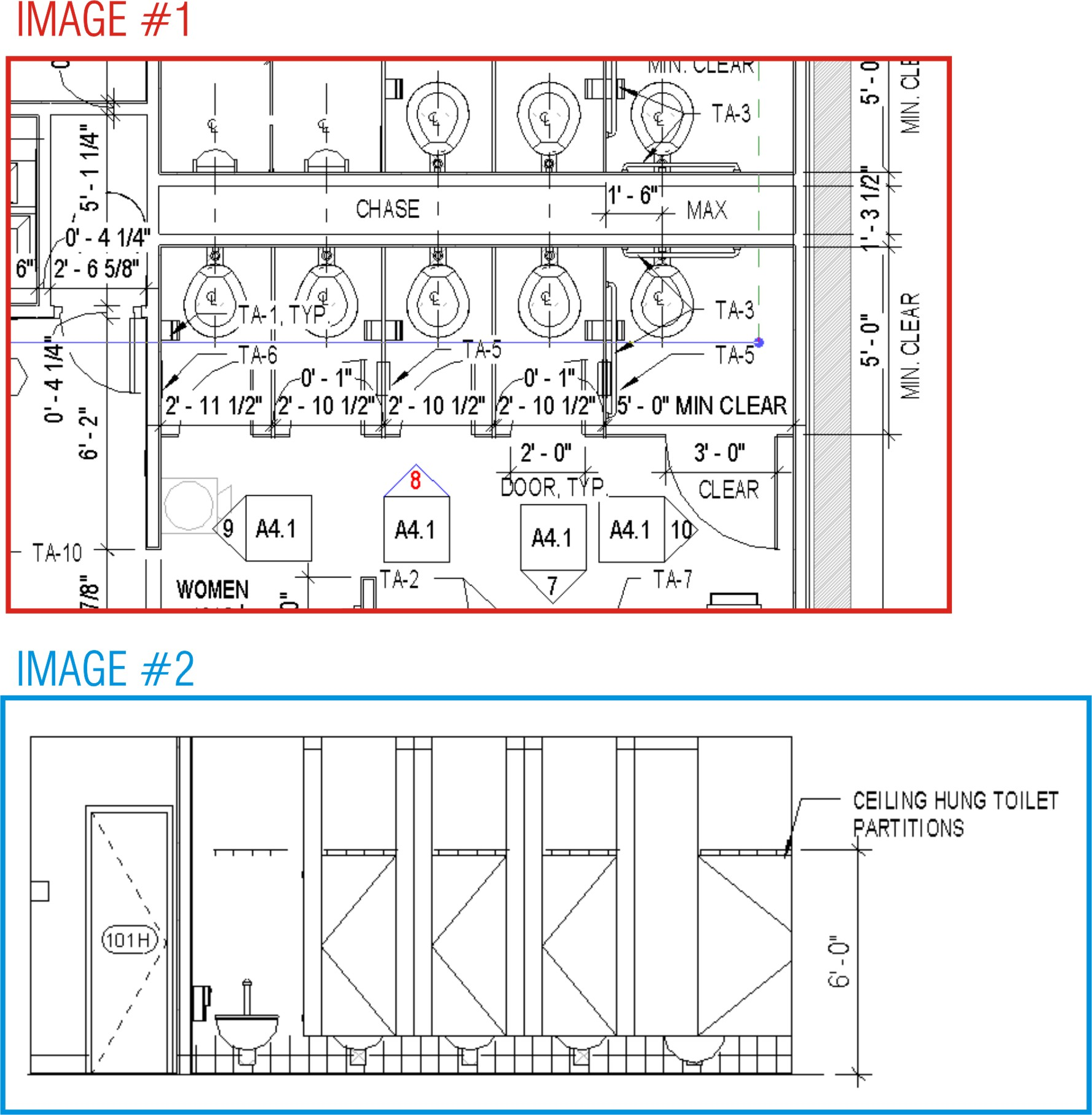 Bathroom Stalls Revit revitcity | restroom stall visbility