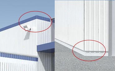 Revitcity Com 3d Corrugated Metal Wall How To Do It