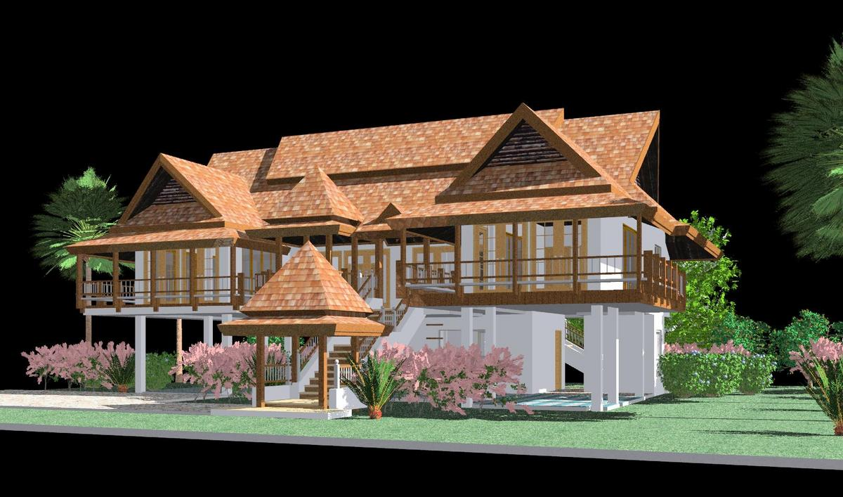 Image gallery thai house design for House design image gallery
