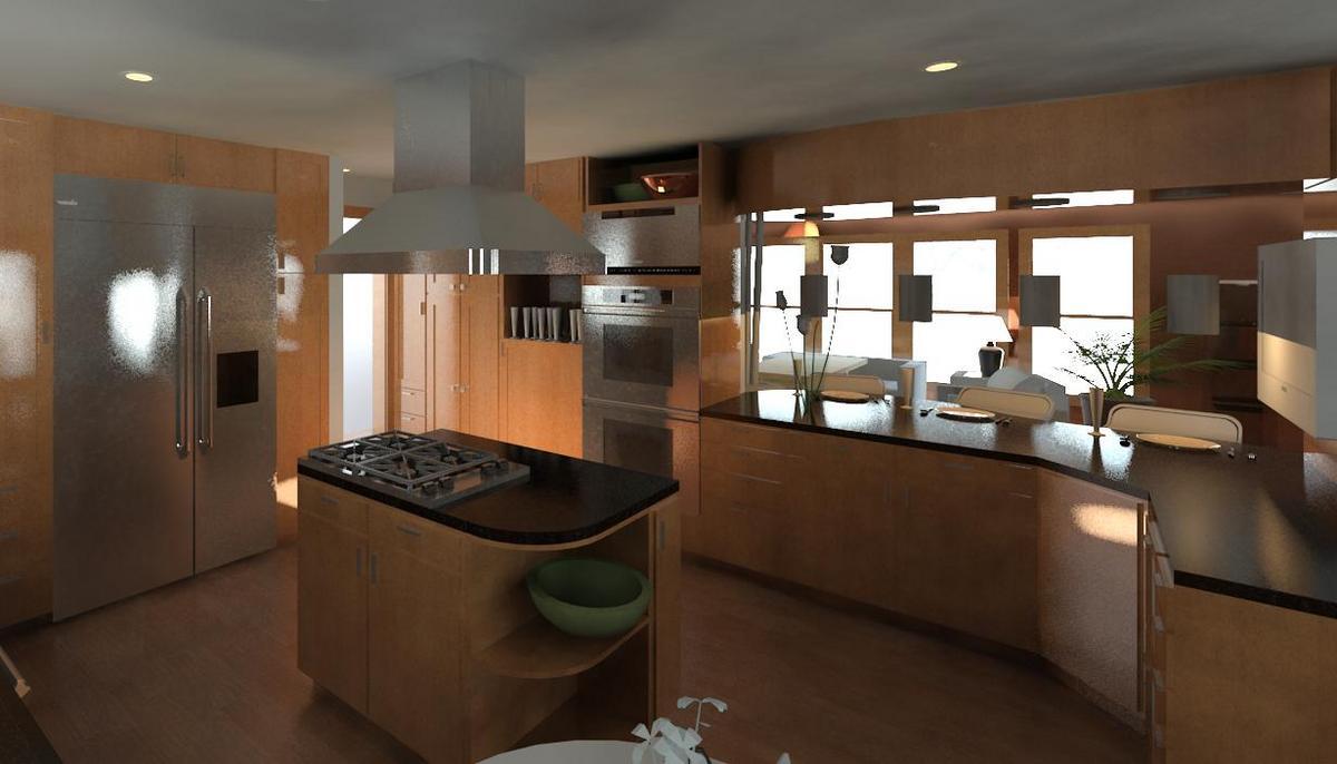 Image Gallery My First Revit Kitchen