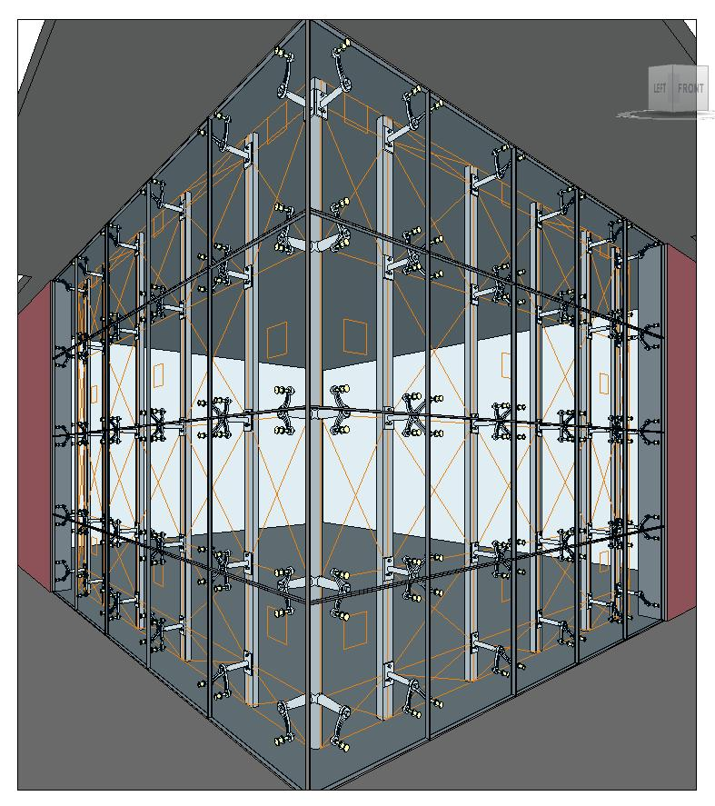 Spider Curtain Wall : Revitcity image gallery spiders