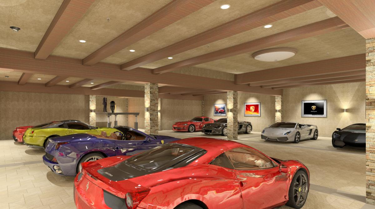 Revitcity image gallery private luxury garage