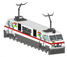 WAP 7 INDIAN RAILWAYS CREATED