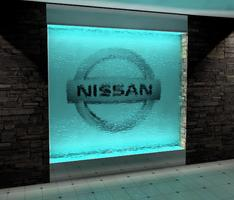 Glass Waterfall Add Concept...My ode to Nissan