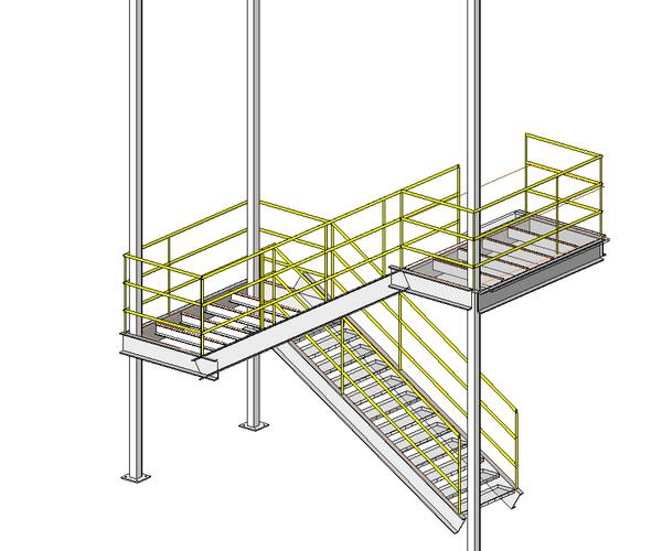 Industrial Staircase (READ FIRST)