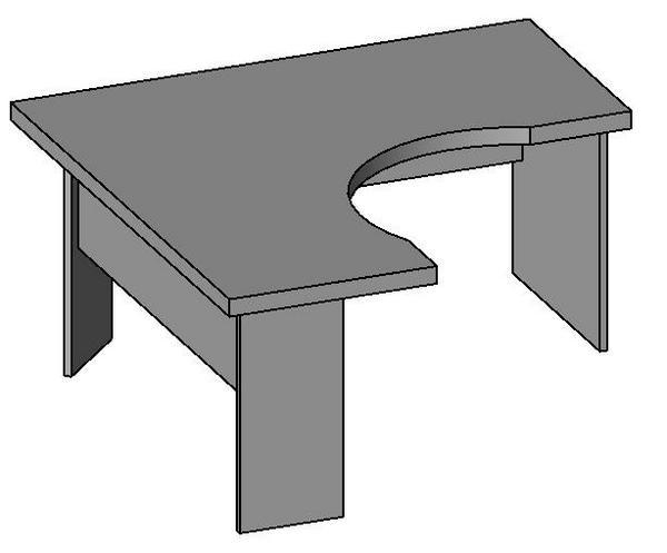 Revitcity Com Object Desk With Return