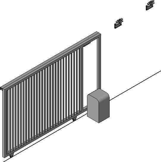 Revitcity Com Object Rolling Gate