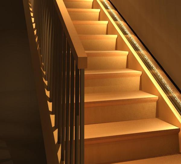 Linear Stair Light Fixture