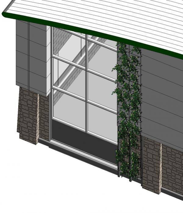 Object vertical green system Green walls vertical planting systems
