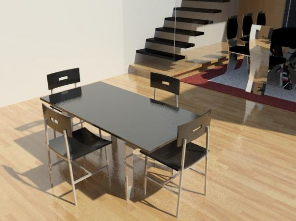RevitCitycom Object Dining Table w Chairs : 11374 from www.revitcity.com size 600 x 449 jpeg 31kB