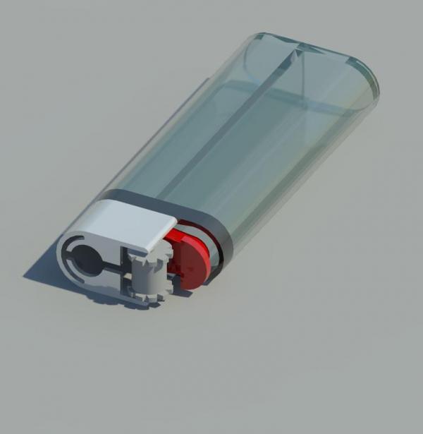 Object Lighter Torch Model