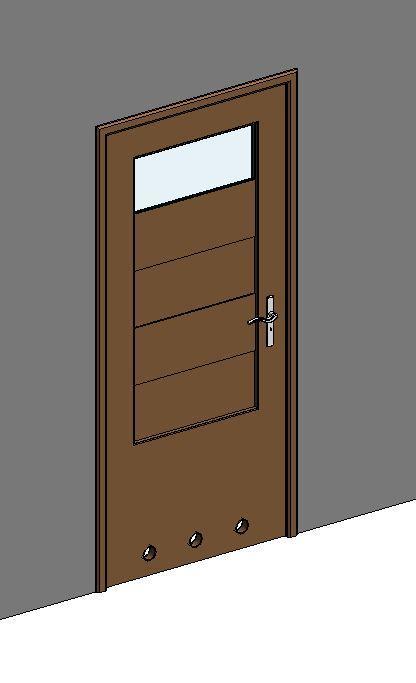Object internal bathroom door 1 vision for Door vision panel