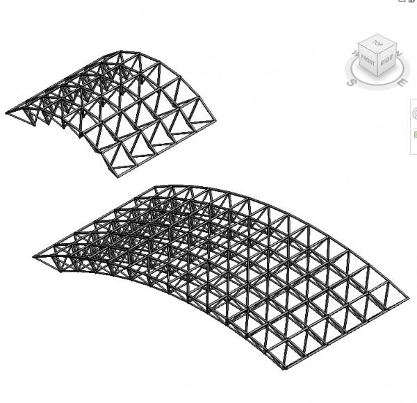 RevitCity.com | Object | Spaceframe - Space Frame - Gian khong gian