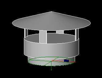 Revitcity Com Object Parametric Duct Weather Rain Cap Hood