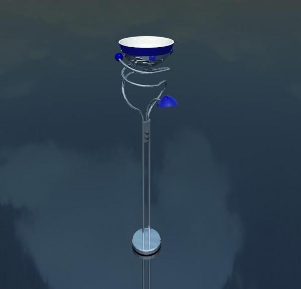 Revitcity Com Object Floor Lamp Light Fixture