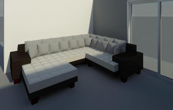 Revitcitycom object sectional sofa for Sectional sofa revit