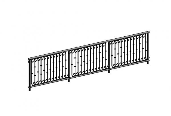 how to change railings in revit