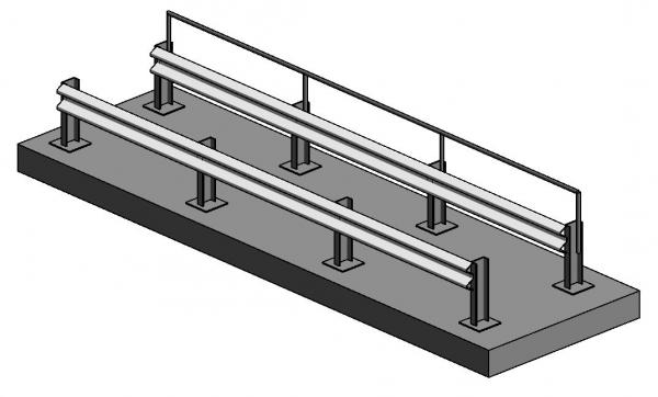 RevitCity com | Object | ARMCO barrier railing