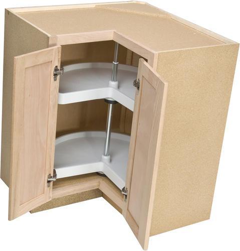 36 Lazy Susan Base Corner Cabinet With One Rotating Shelf