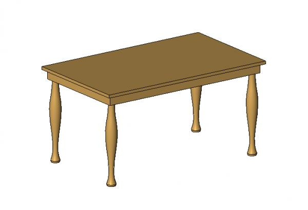 RevitCitycom Object Dining Table Rectangle : 14932 from www.revitcity.com size 600 x 409 jpeg 12kB