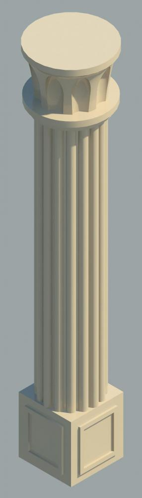 Object Decorative Column
