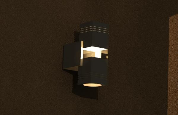 Revit Wall Sconce - Revitcity Object Wall Sconce, Rutherford Sconce 3d Model Formfonts 3d Models ...