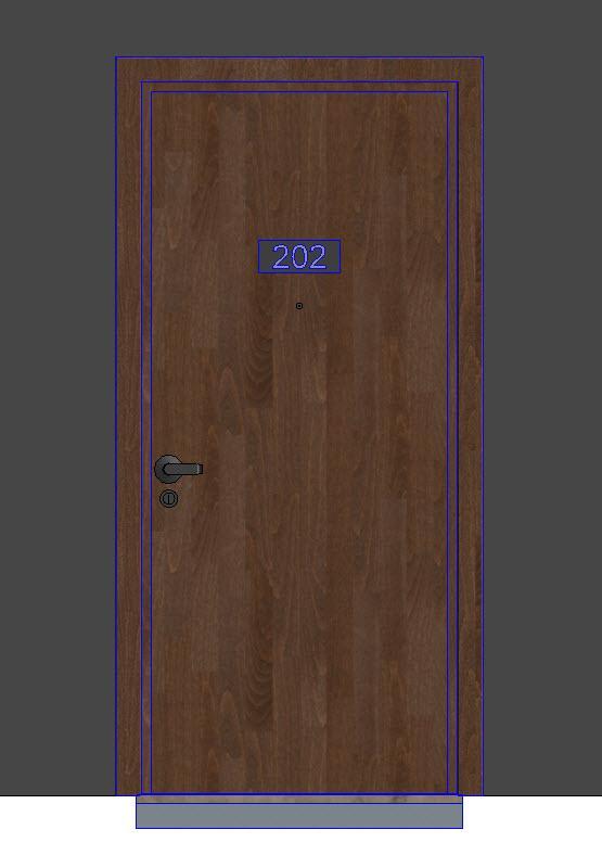 RevitCity.com | Object | Apartment Front Door