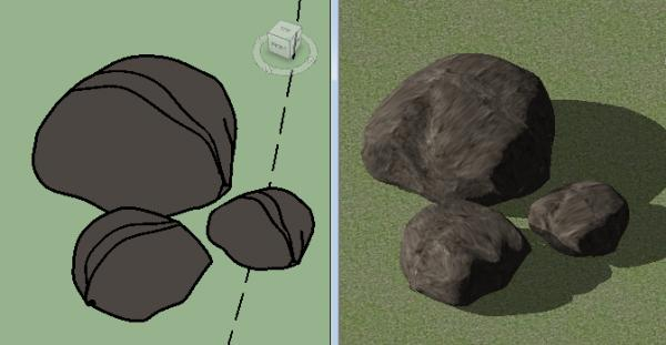 Simple, Scalable Rock/ Boulder