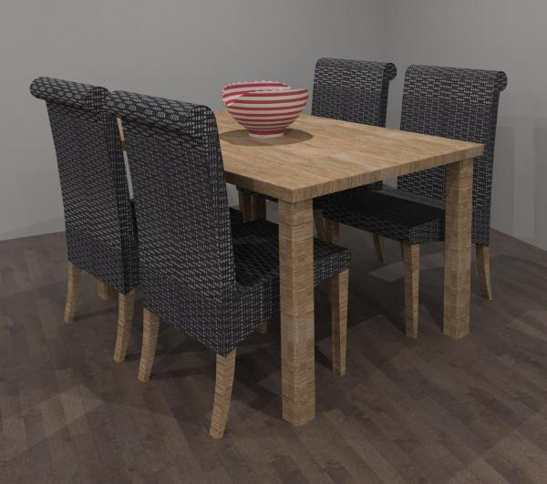 Revitcity object dining table and chairs