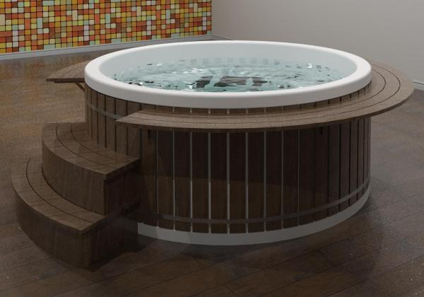 RevitCity com | Object | Hot Tub - 2 Meter Diameter