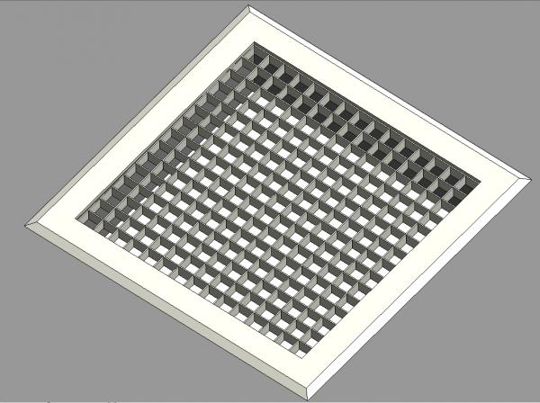 Revitcity Com Object Square Grill Ceiling Vent