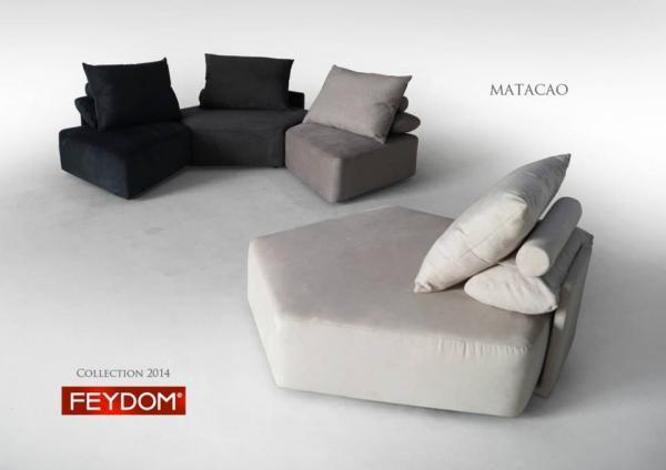 Modular Couch Sofa Feydom Element 2