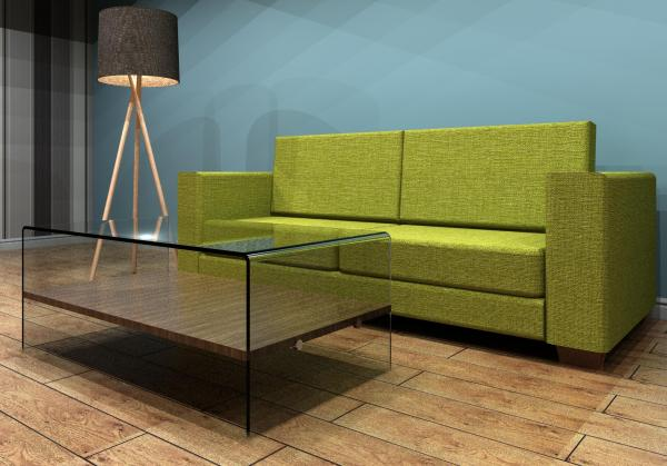 Object sofa coffee table and floor lamp for Sofa table revit