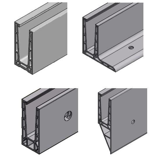 object easy glass pro q railing. Black Bedroom Furniture Sets. Home Design Ideas