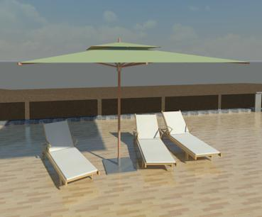 Object umbrella outdoor for Outdoor furniture revit