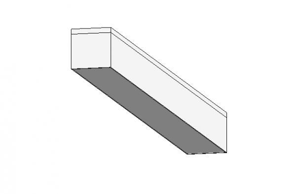 RevitCity.com Object light strip recessed parametric