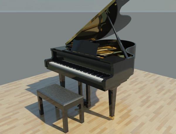 Revitcity Com Object Grand Piano