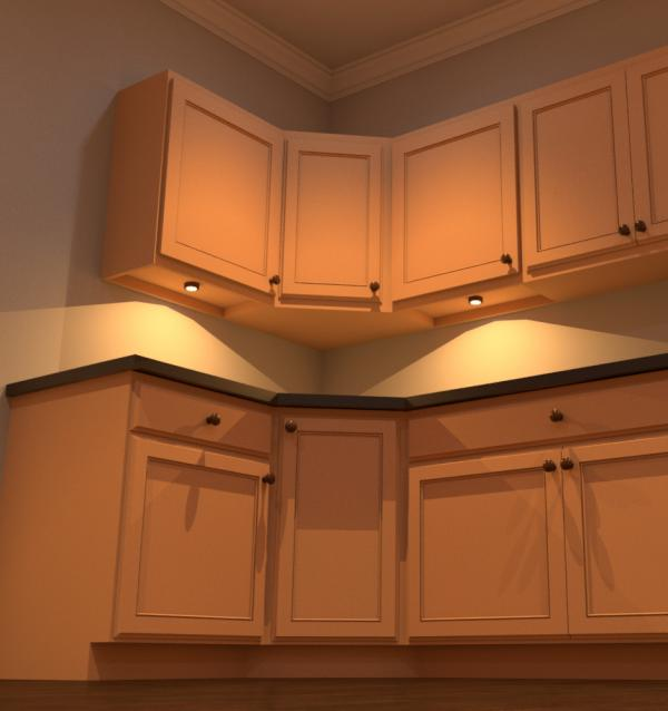 Lights For Under Cabinets In Kitchen: Under Cabinet Puck Lighting