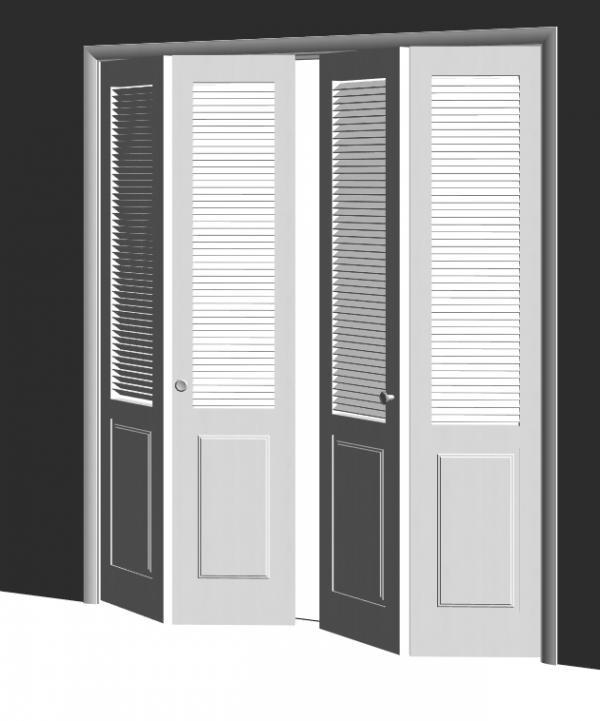 RevitCity.com | Object | 4 Panel Bifold Door
