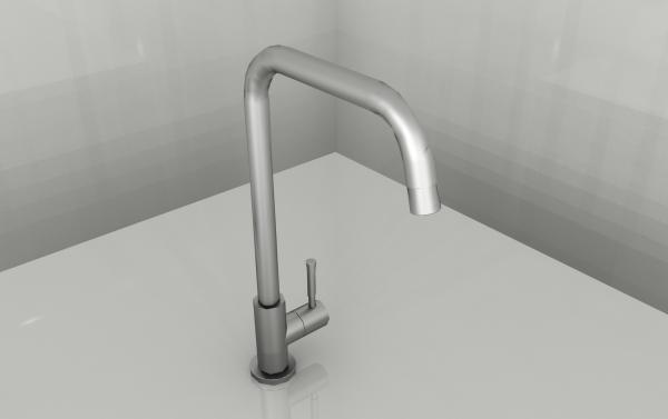 Tramontina Angolare Cold Water Kitchen Tap