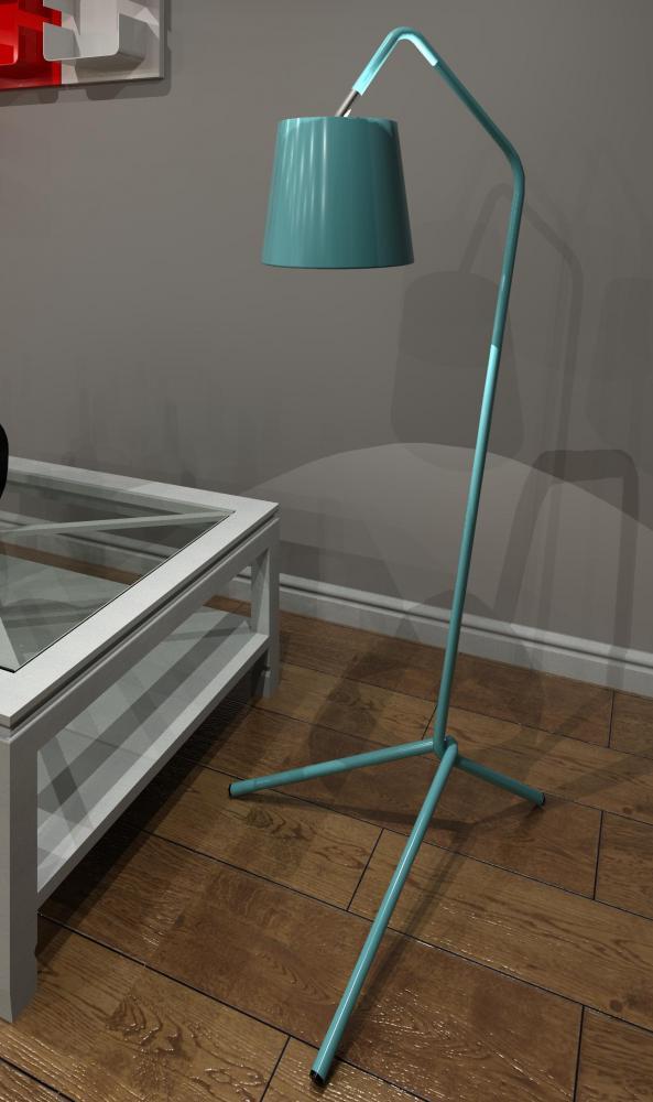 Revitcity Com Object Barcelona Floor Lamp