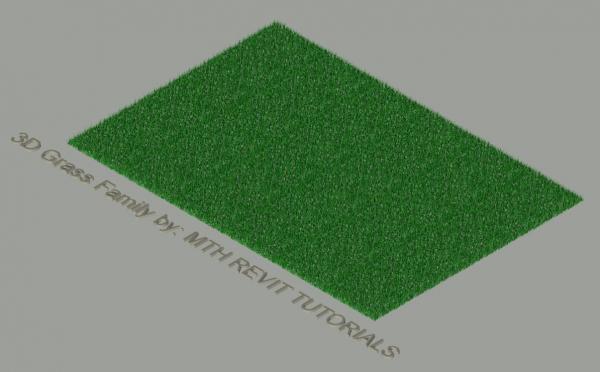 RevitCity com | Object | 3D Grass Family