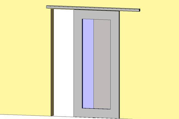 single glass pocket doors. single panel sliding door w/hafele hrdw parametric glass pocket doors