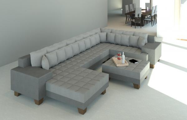 Revitcity Com Object Modern Sectional Sofa
