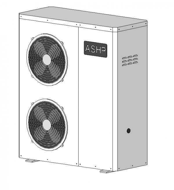 Air Source Heat Pump (ASHP)
